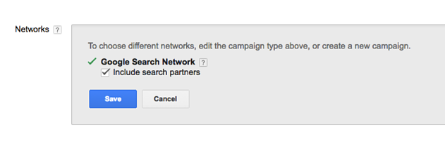 include search partners
